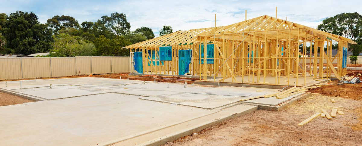 house concrete slab construction australia